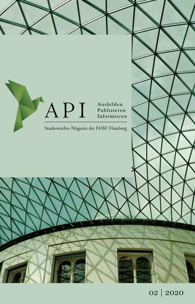 Das Cover des zweiten Api Magazins 2020